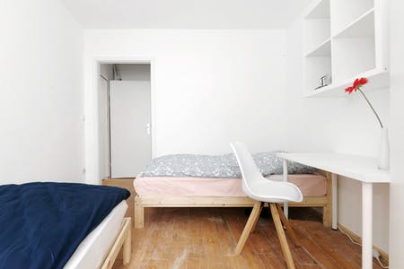 Shared room for rent from 19 Dec 2019 (Emdenzeile, Berlin)