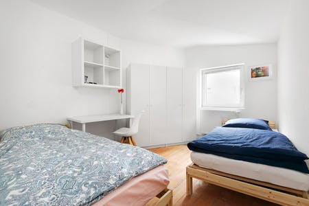 Shared room for rent from 17 Aug 2019 (Emdenzeile, Berlin)
