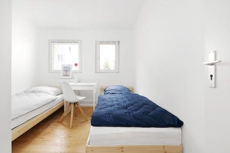 Gedeelde kamer te huur vanaf 01 Jan 2020 (Emdenzeile, Berlin)