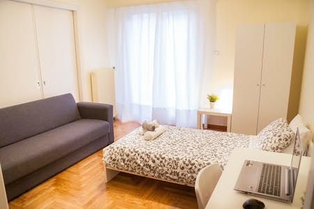Private room for rent from 16 Jun 2020 (Smolensky, Athens)