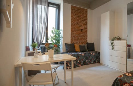 Studio for rent from 01 Aug 2019 (Piazza Napoli, Milan)