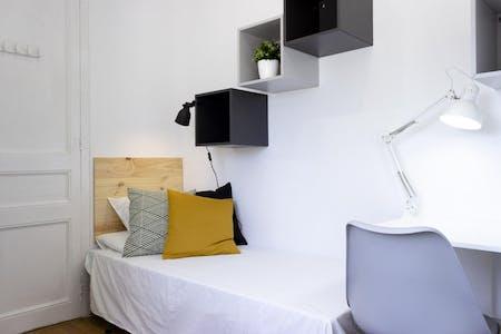 Private room for rent from 01 Dec 2019 (Carrer Gran de Gràcia, Barcelona)