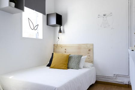 Privatzimmer zur Miete von 20 Oct 2019 (Carrer Gran de Gràcia, Barcelona)