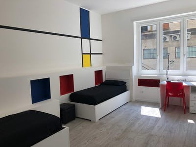 Shared room for rent from 25 May 2019 (Via Louis Pasteur, Milan)