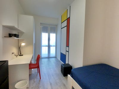Private room for rent from 25 Feb 2020 (Via Louis Pasteur, Milan)