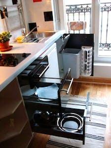 Appartement te huur vanaf 05 apr. 2020 (Rue de la Grange-Batelière, Paris)