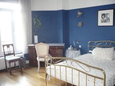 Privé kamer te huur vanaf 01 Jul 2019 (Avenue de Broqueville, Woluwe-Saint-Pierre)