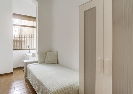 Private room for rent from 24 Aug 2019 (Carrer de València, Barcelona)