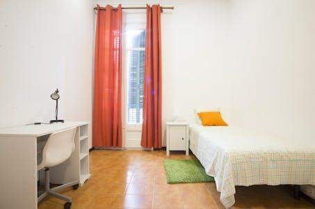 Private room for rent from 17 Aug 2019 (Carrer de València, Barcelona)