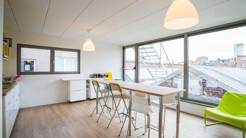 WG-Zimmer zur Miete ab 01 März 2020 (Bergensesteenweg, Anderlecht)