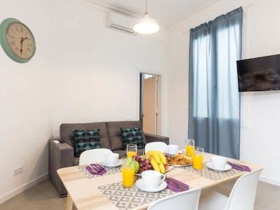 Appartement te huur vanaf 23 Aug 2019 (Carrer de la Marina, Barcelona)