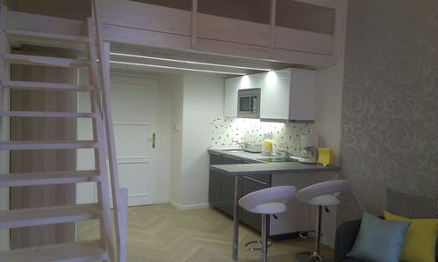 Studio for rent from 11 Aug 2019 (náměstí Bratří Synků, Prague)