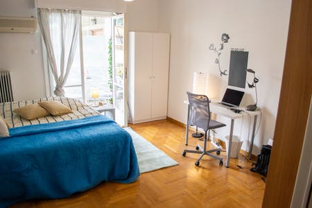 Private room for rent from 03 Jun 2019 (Skyrou, Athens)