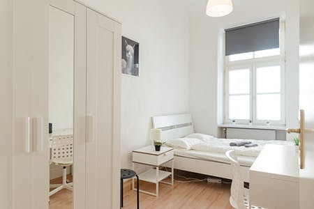 Private room for rent from 16 Oct 2020 (Blindengasse, Vienna)