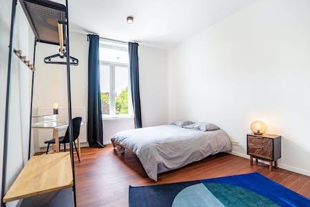 Stanza privata in affitto a partire dal 01 Jan 2020 (Rue Isaac, Charleroi)