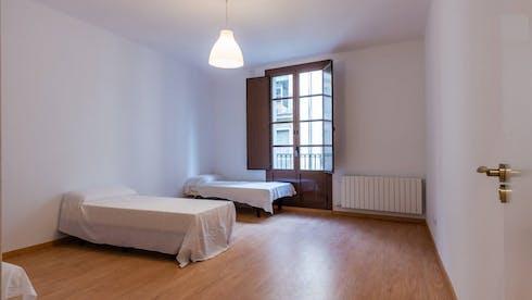 Private room for rent from 19 Aug 2019 (Carrer Nou de la Rambla, Barcelona)