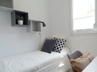 单人间租从29 1月 2020 (Carrer Gran de Gràcia, Barcelona)