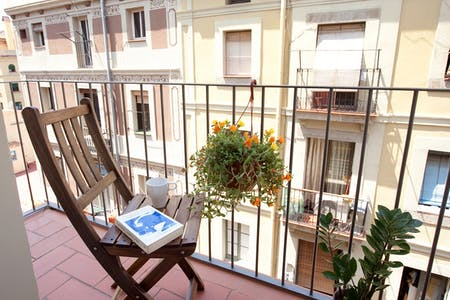Apartment for rent from 24 Sep 2019 (Carrer de Vinaròs, Barcelona)