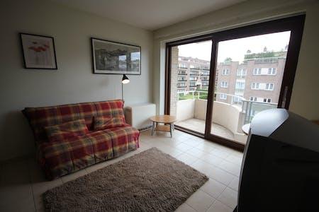 Apartamento de alquiler desde 20 Sep 2019 (Rue Konkel, Woluwe-Saint-Lambert)