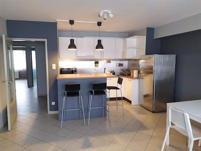 Apartamento para alugar desde 01 mar 2020 (Boulevard Joseph Tirou, Charleroi)