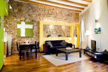 Wohnung zur Miete ab 30 März 2020 (Carrer del Rec, Barcelona)