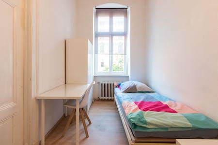 Mehrbettzimmer zur Miete ab 16 Apr. 2020 (Lützowstraße, Berlin)