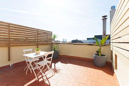Appartement te huur vanaf 02 Jun 2020 (Carrer de Lope de Vega, Barcelona)