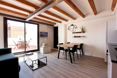 Appartement te huur vanaf 01 Aug 2022 (Carrer Tortellà, Barcelona)