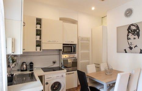 Wohnung zur Miete ab 26 Feb. 2020 (Via Giovanni Battista Sammartini, Milan)