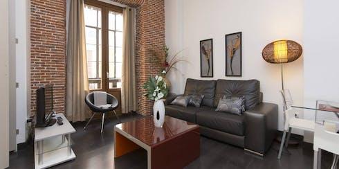Appartamento in affitto a partire dal 05 Dec 2019 (Calle Pérez Galdós, Madrid)