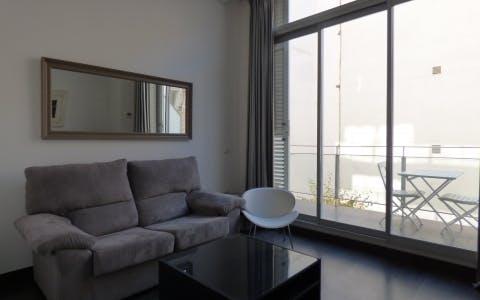 Apartamento para alugar desde 17 Aug 2019 (Calle Pérez Galdós, Madrid)
