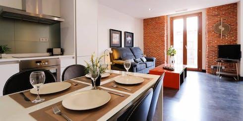 Wohnung zur Miete ab 25 Juli 2020 (Calle Pérez Galdós, Madrid)