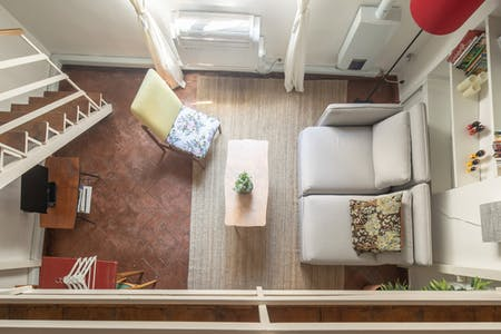 Apartamento de alquiler desde 09 Oct 2019 (Via dei Serragli, Florence)