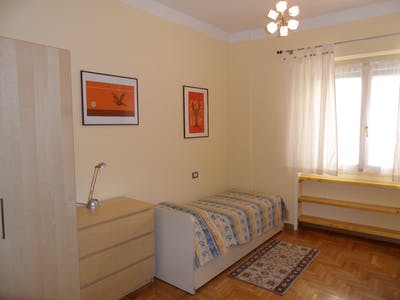Private room for rent from 01 Jun 2020 (Via Giorgio Washington, Milan)