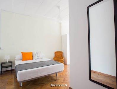 Quarto privativos para alugar desde 31 Jul 2020 (Carrer de Xàtiva, Valencia)