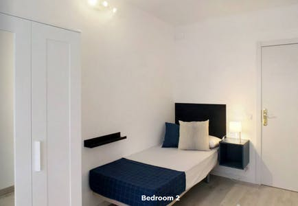 Private room for rent from 31 Jan 2020 (Calle del Hachero, Madrid)