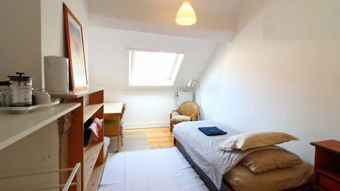 Stanza privata in affitto a partire dal 01 apr 2020 (Avenue de la Jonction, Saint-Gilles)