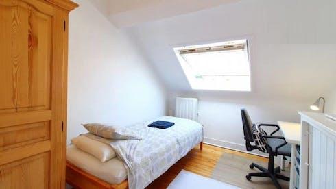 Stanza privata in affitto a partire dal 17 Nov 2020 (Avenue de la Jonction, Saint-Gilles)