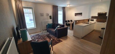 Appartement te huur vanaf 15 sep. 2020 (Rue de Gerlache, Etterbeek)
