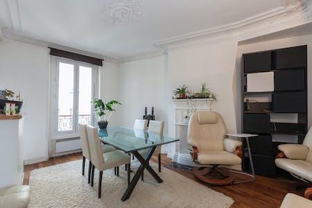 Habitación privada de alquiler desde 01 Sep 2019 (Boulevard Edgar Quinet, Paris)