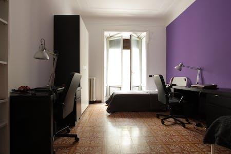 Mehrbettzimmer zur Miete ab 01 Apr. 2020 (Viale Romagna, Milan)