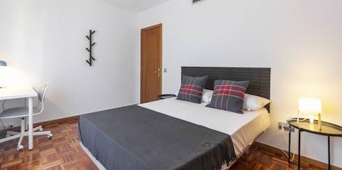 Privé kamer te huur vanaf 17 Oct 2019 (Calle José Silva, Madrid)