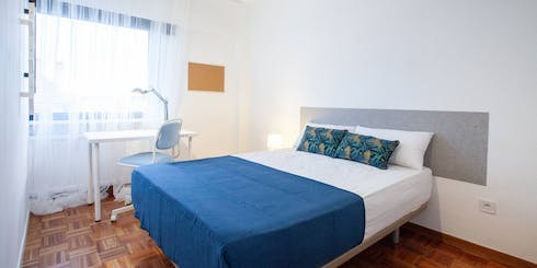 Private room for rent from 31 Dec 2019 (Calle José Silva, Madrid)