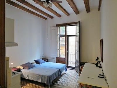 Chambre privée à partir du 30 Oct 2019 (Carrer de n'Aglà, Barcelona)