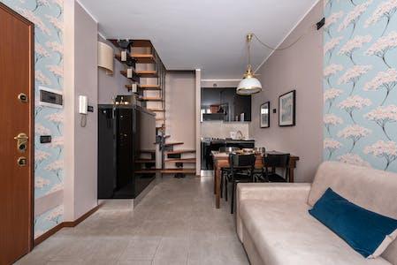 Wohnung zur Miete ab 01 Mai 2020 (Via Marco Aurelio, Milan)