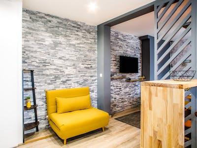 Apartamento para alugar desde 17 Nov 2019 (Rue du Parc, Annemasse)