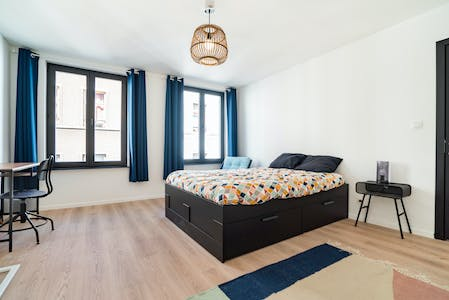 Private room for rent from 01 Mar 2020 (Rue Mercelis, Ixelles)