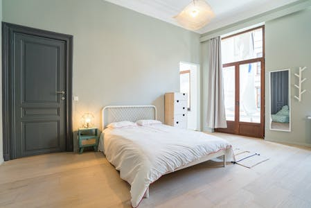 Private room for rent from 01 Jun 2020 (Rue Colonel van Gele, Etterbeek)