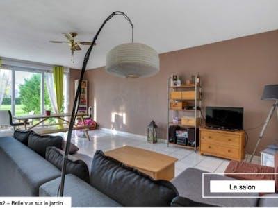 Private room for rent from 06 Dec 2019 (Rue des Lilas, Saint-Louis-de-Montferrand)