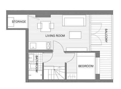 Wohnung zur Miete von 20 Oct 2019 (Noorderhavenkade, Rotterdam)